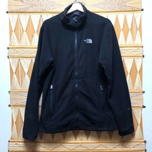 The North Face Black Fleece Full Zip Up Jacket L